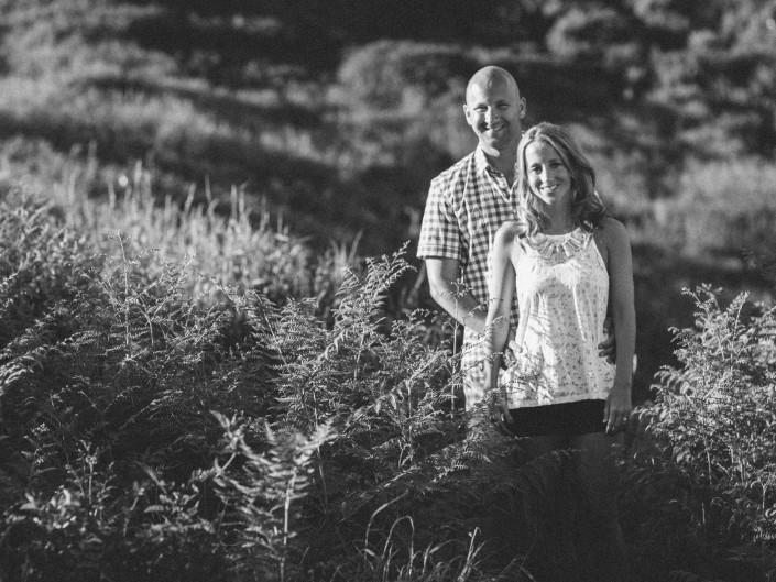 engagement portrait grouse mountain