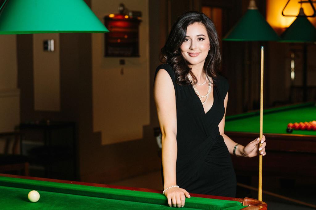 vancouver portraits at vancouver club billiards room
